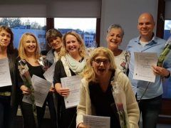 Certificaat Touch for Health Instructeur!